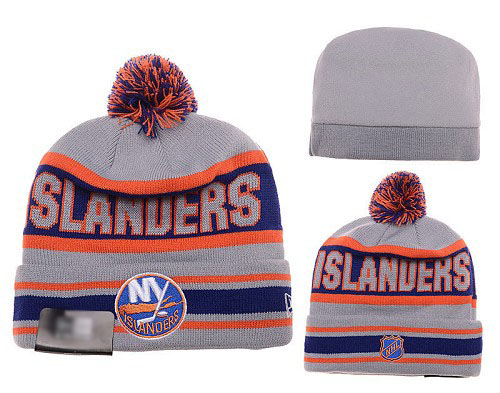 NHL New York Islanders Stitched Knit Beanies 001
