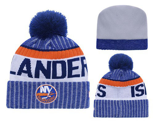 NHL New York Islanders Stitched Knit Beanies 003