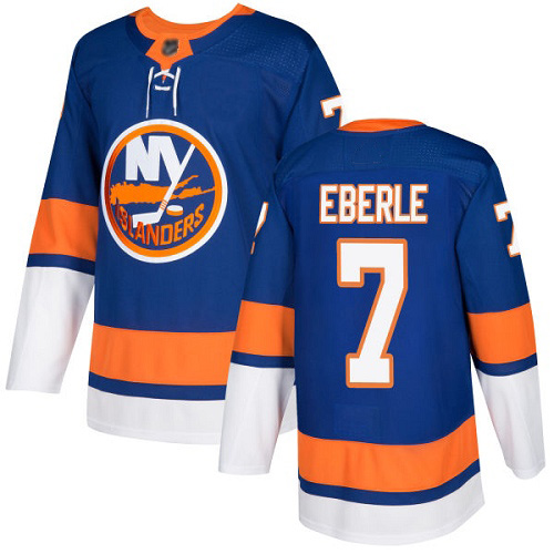 Adidas Men's Jordan Eberle Premier Royal Blue Home Jersey: NHL #7 New York Islanders