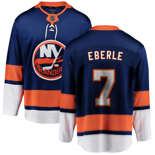 Fanatics Branded Youth Jordan Eberle Breakaway Royal Blue Home Jersey: NHL #7 New York Islanders